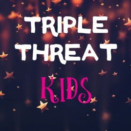 Triple Threat Kids: 1st-5th Grade: June 18 – 29 from 9:00 AM – 12:30 PM