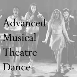 Advanced Musical Theater Dance  Thursday 7:00-8:00 PM