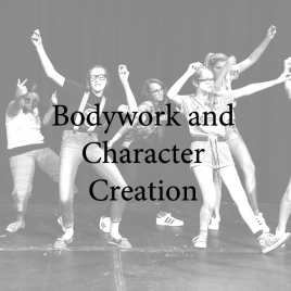 Middle School–Bodywork and Character Creation  Tuesdays  6:00-7:00